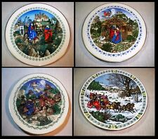 New ListingVintage Collector's Holiday Plates Lot of 4