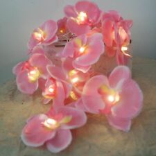 Novelty Flower Orchid Fashion Holiday Party Garland Fairy String Light 4m 20 Led