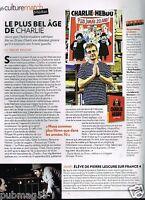Coupure de Presse Clipping 2012 (1 page) Charlie Hebdo les 20 ans Charb