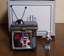 Lost in Space Retrospect Television Miniature Box & tiny Robot B-9 Tv Phb 1999