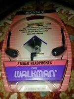 Vintage Sony MDR-W12L Headphones for Walkman/Discman