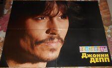 Johnny Depp / Mika - Magazine A2 Poster