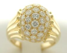 TIFFANY & CO DIAMOND DOME COCKTAIL RING ESTATE CLUSTER RING REDUCED $