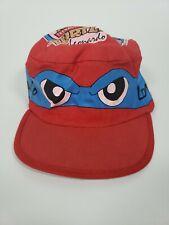 Vintage Boys 1990 Teenage Mutant Ninja turtles TMNT Leonardo Painters Cap Hat