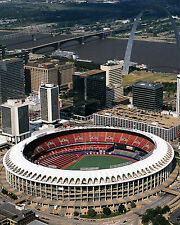 St. Louis Cardinals Busch Stadium (exterior), 8x10 Color Photo