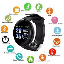 D18 BT4.0 Smart Watch HeartRate Blood Oxygen Fitness Tracker Waterproof Bracelet