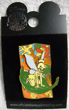 Tinker Bell Fall Leaves Collection 2005 Riding a Leaf Disney Pin NEW