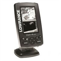 Lowrance Mark 4 HDI Fishfinder / Chartplotter - c/w Small Chart and transducer