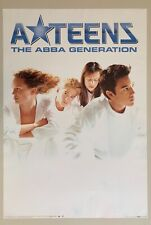 A-Teens,The Abba Generation,Photo By Mats Oscarsson,Rare Licensed 1999 Poster