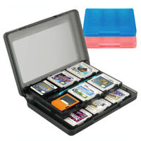 24 DS Game Case Holder for Nintendo 3DS DSi XL Lite DS Black Blue Pink