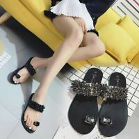√√Summer Women Fashion Casual Shoes Crystal Sandals Summer Slippers Plus Size