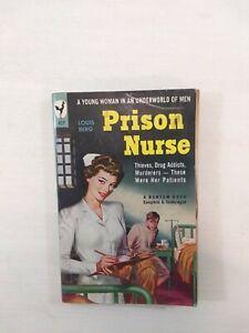 PRISON NURSE - Mid Century Pulp Sleaze Paperback 1949