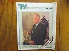 Dec. 1 1991 Minneapolis Star Tribune TV Week Magazine(GEN.  NORMAN  SCHWARZKOPF)