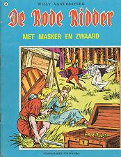 RODE RIDDER 049 - MET MASKER EN ZWAARD