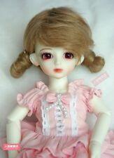 BJD Doll Hair Wig Mohair 6-7 inch 15-17cm Brown 1/6 YOSD MK DZ DOD LUTS E05