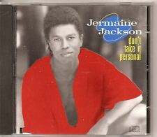 JERMAINE JACKSON Don't Take It Personal 1989 CD cut out