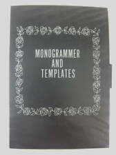 Sears Kenmore Monogrammer with Templates Full Alphabet Upper Case Script