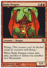 MTG RATHI DRAGON - DRAGO DI RATH - 9TH - MAGIC