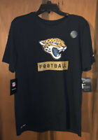 NWT Men's Nike Jacksonville Jaguars NFL Dri-fit T-shirt. Sz Medium & Black.