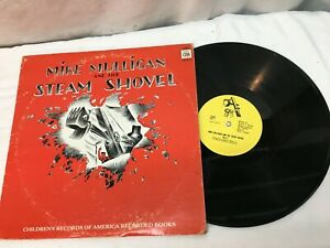Mike Mulligan and his Steam Shovel Record Lp Childs Record Very Good Free Ship