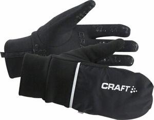 Craft Hybrid Weather Full Finger Gloves | Black | 2XL
