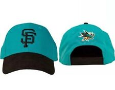 ⚾️San Francisco Giants Baseball San Jose Sharks Hockey NEW NHL MLB Cap Hat SGA⚾️