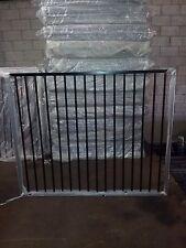 Aluminium Flat Top Black Pool Gate/Driveway Gate /Front Gate 1.46m wide