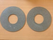 2 TRACTOR  PTO CLUTCH DISCS 165mm OD x 63mm ID