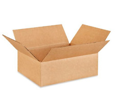 100 12x10x4 Cardboard Paper Boxes Mailing Packing Shipping Box Corrugated Carton