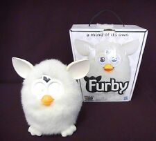 Hasbro Furby 2012 Yeti White with Box Rare Collectible 30 Day Warranty!