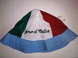 CAPPELLO BERRETTO CAP HAT CICLISMO VINTAGE GIRO D' ITALIA CYCLISME ORIGINALE