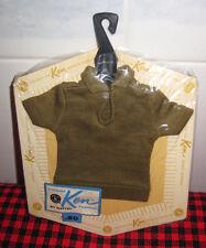 "1962 ""Ken"" Doll~New Fashion Pak~Olive Green Polo~Tm Tag~Moc~Booklet~Cello Intact"