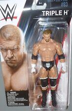 TRIPLE H WWE Mattel Basic Series 83 Wrestling Action Figure Toy NEW DMG PKG