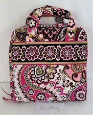 Vera Bradley Very Berry Paisley Tech Organizer Cosmetic Case Travel Bag Hard