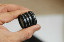 Nikon Lens Filter Pouch with 28mm ND4, 28mm ND8, 28mm UV, 28mm C-P.L