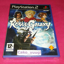 ROGUE GALAXY SONY PS2 NEUF SOUS BLISTER VERSION 100% FRANCAISE