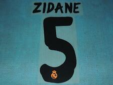Spanish La Liga  2013-2014 Real Madrid #5 Zidane Homekit NameSet Printing