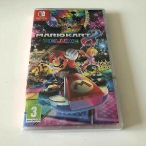 Mario Kart 8 Deluxe - Nintendo Switch Game - NEW SEALED