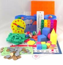 Saxon Math Manipulatives Homeschool Kit Teacher Resources K-6 Complete New BTS