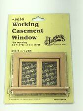 miniature dollhouse #95049 Fashion Doll 1//8 scale CASEMENT WINDOW PLACEMENT