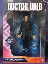 """DOCTOR WHO 5.5"""" BOXED FIGURE - THE 12th TWELFTH DOCTOR in GREEN HOODIE"""
