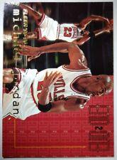 Michael Jordan 1995-96 Fleer, End 2 End, Insert #9, Sharp Bulls HOF!