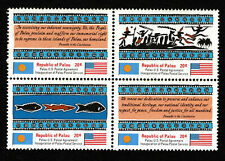 Palau - 1983 - Inauguration - Set of Four - Mnh