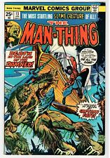 Marvel MAN-THING #13 - Buscema Art - VF Jan 1975 Vintage Comic