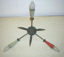 """VINTAGE - 50er Jahre Deckenlampe """"Rockabilly Sputnik Spinnenlampe"""" Speicherfund"""