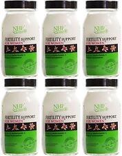 Natural Health Practice Fertility Support for Women - 60 Capsules (Pack of 6)