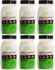 Práctica de salud natural de la fertilidad Soporte Para Mujeres - 60 cápsulas (paquete de 6)