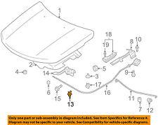 SUZUKI OEM 06-13 Grand Vitara Hood-Lock Latch 8211065J01