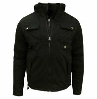 Soul Star Men's Peter Bomber Jacket Coat Black