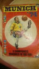 Munchen 74 Munich 1974  World Cup Sticker Album 100% Complete